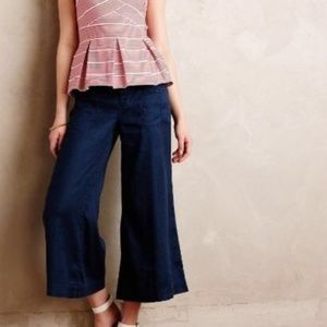 ANTHRO | Gaucho Flared Jeans